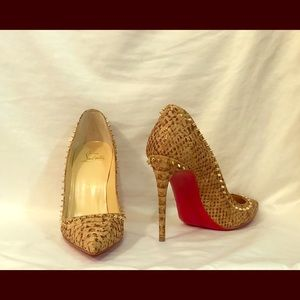 Never been worn authentic Christian Louboutin.